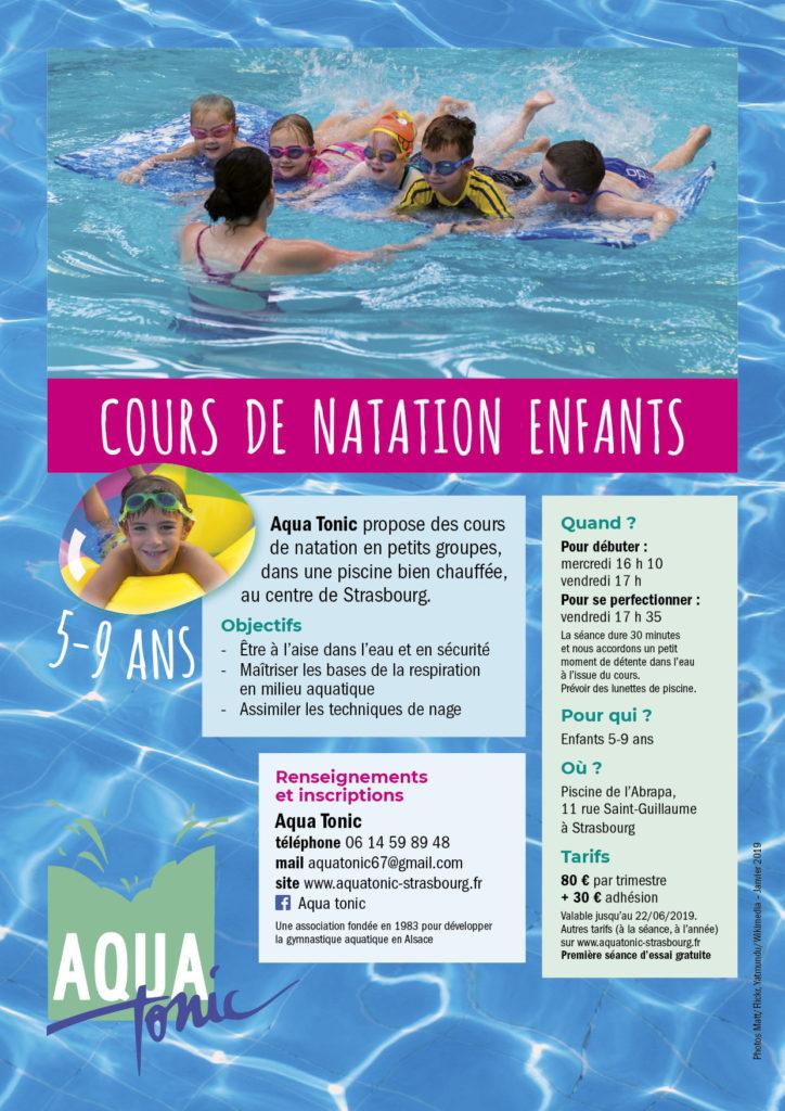 Aqua Tonic - Cours de natation enfants à Strasbourg