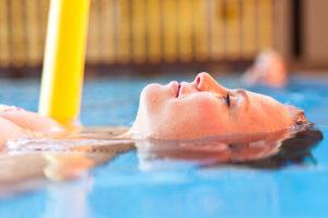 Nouvelle séance d'aquagym pour les mamans et d'Aqua Pilates