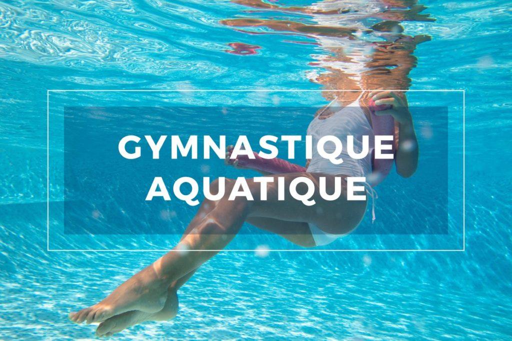 Cours gymnastique aquatique Strasbourg