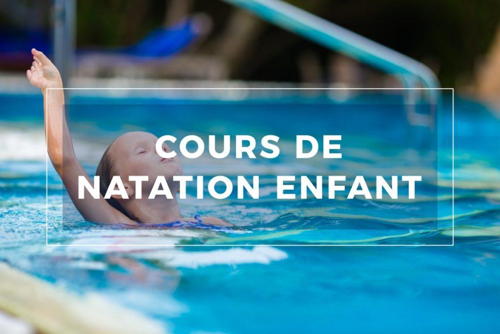 Cours natation enfant Strasbourg