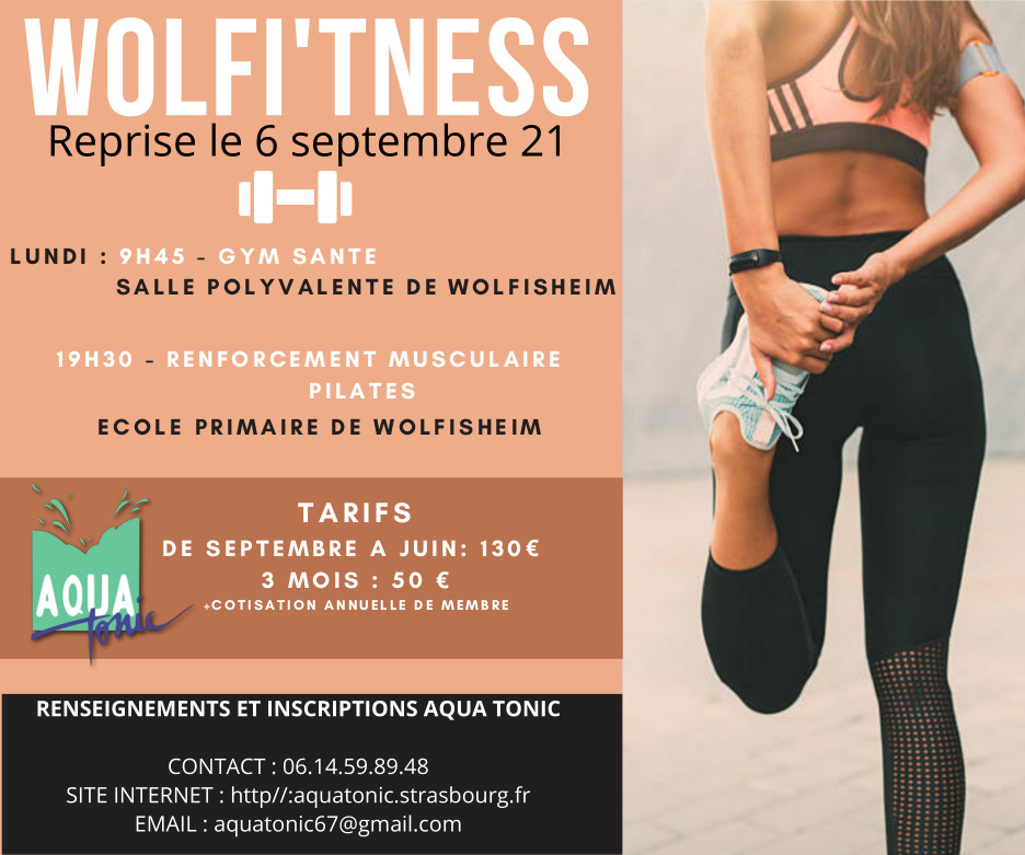 Cours fitness Strasbourg